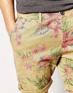 Image 3 of Pepe Jeans McQueen Hawaiian Turn Up Shorts
