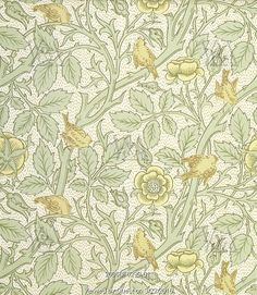 Tom Tit wallpaper, by William Morris. England, late 19th century