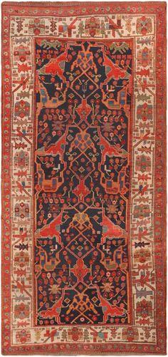Antique Persian Bidjar Rug 46900 Nazmiyal - By Nazmiyal