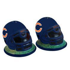NFL Chicago Bears Helmet Salt and Pepper Shakers by The Memory Company. $12.92. NFL Chicago Bears Helmet Salt and Pepper Shakers