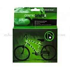 Galactic Green CosmicBrightz Bicycle Lights