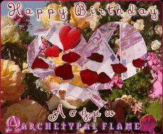 Archetypal Flame - Happy birthday Asimo Happy Birthday Asimo. May all you dreams come true and many - many returns, in love, light, joy, happiness and abundance. Love and light  Agape ke Fos  Χαρούμενα γενέθλια Ασήμω. Είθε όλα σου τα όνειρα να πραγματωθούν και χρόνια πολλά να ακολουθήσουν στην αγάπη, το φως, τη χαρά και την αφθονία. Αγάπη και Φως. #agape, #fos, #love, #light, #birthday, #joy, #abundance, #arcehtypal, #flame, #gif, #GIFS, #Quotes. Love And Light, Inspirational