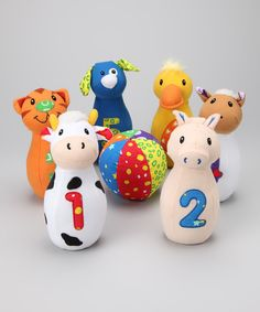 Baby Farm Friends Bowling Set  by Genius Babies  Christmas gift maybe