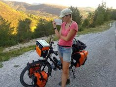WOW (Women On Wheels) -- Solo Females Cycling Around the World. So many inspiring women!
