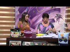 Mulher.com 19/02/2015 Arlete Allegretti - Porta treco em patchwork Parte 1/2 - YouTube