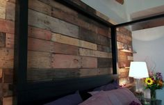 Ana White | Build a Pallet Wall from HGTV Saving Alaska | Free and Easy DIY Project and Furniture Plans