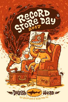 Dogfish Head Record Store Day poster