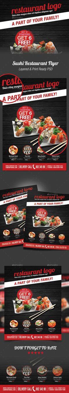 japanese restaurant flyer poster template 2 psd sale flyer template and restaurants