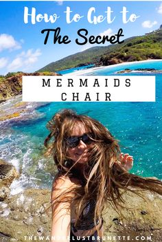 How to Get to The Secret Mermaids Chair St Croix Virgin Islands, Virgin Islands Vacation, St Thomas Virgin Islands, Tortola British Virgin Islands, St Thomas Vacation, St Thomas Usvi, Water Island, Caribbean Vacations, Le Far West