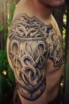 erkek omuz dövmeleri man shoulder tattoos 26