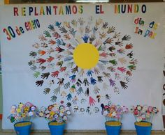 Día de la paz Painted Bags, Teaching Time, How To Speak Spanish, Earth Day, Learning Spanish, Party Games, Recycling, Religion, Education