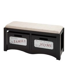 Exquisitely design, this storage bench provides extra seating while also offering an elegantly concealed spot to store blankets, books and more. Crafted from a unique blend of materials, it easily adds an element of country-inspired flair to any room.40'' W x 20'' H x 16'' DFir / medium-density fiberboard / linenImporte...