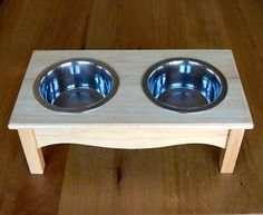 Unique Gift Ideas and Personalised Gifts Pet Food Store, Raised Dog Feeder, Pallet Dog Beds, Dog Bowl Stand, Wood Dog, Dog Furniture, Pet Beds, Dog Houses, Diy Stuffed Animals