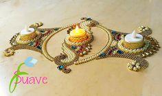 Suave pearl rangoli   Exclusive designs  Whatsapp @9560115450