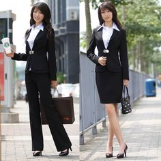 Spring and autumn women's fashion slim ol work wear professional women's work wear suits pants