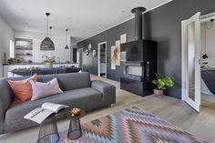 Porin asuntomessut 2018, Designtalo Noste. #designtalo #asuntomessut Decor, House, Contemporary, Home Decor, Rugs, Contemporary Rug