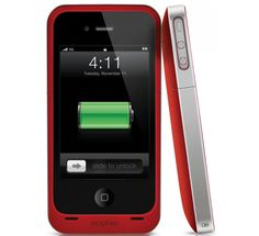 mophie juice pack air® - iPhone 4 & 4S Battery Case - (PRODUCT) RED™