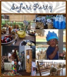 """King of the Jungle"" Safari party - Jungle Safari"