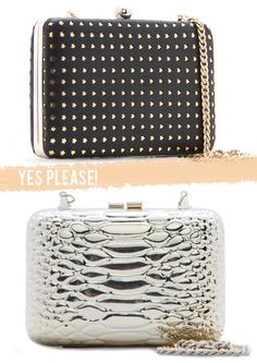 Stefan Sisters: Mango Clutches Mango Fashion, Clutches, Sisters, Handbags, Jewels, Wallet, Purses, Earrings, Accessories