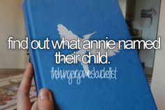 Annie & Finnick's baby!