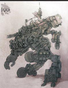 ArtStation - Combat vehicle, Stato Ozo