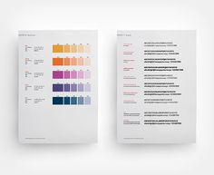 Farbkonzept, Typographie  Corporate Design Manual Goldschmidt-Thermit Group.
