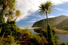 One of New Zealand's nine great walks, the Heaphy Track can either begin or end in Karamea on the West Coast. Tableaux D'inspiration, New Zealand South Island, Great Walks, Australia Travel, Australia 2017, Amazing Nature, West Coast, Places To See, Beautiful Places