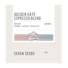 Seven Seeds coffee packaging