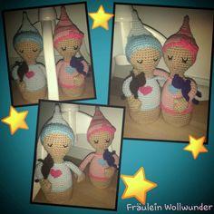 Träumerli * Mädchen * junge * Bruder und Schwester * girl * Boy * gehäkelt * crochet  https://www.facebook.com/fraeuleinwollwunder