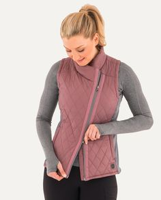 Warmup Quilted Vest   Noble Outfitters
