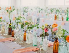wedding color mistakes not to make / don't pick the trendiest colors