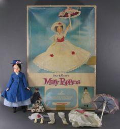 Brilliant Due Bellissime Bambole Mary Poppins Vintage Complete Dolls Modern Techniques Bambole E Accessori Bambole Fashion