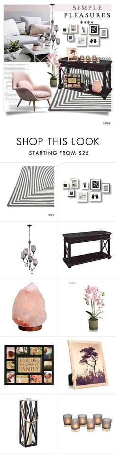 """""""Simple Pleasures"""" by clotheshawg on Polyvore featuring interior, interiors, interior design, home, home decor, interior decorating, Alexander, Varaluz, Magnussen Home and Addison Ross"""
