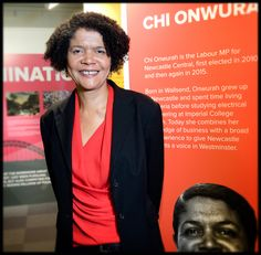 Chi Onwurah is a British Labour Party politician, who was elected at the 2010 general election as the Member of Parliament for Newcastle upon Tyne Central ©Colin Davison