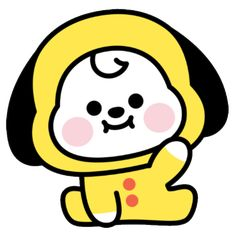 sticker by 💗 BTS. Discover all images by 💗 BTS. Find more awesome chimmy images on PicsArt. Baby Stickers, Cute Stickers, Cartoon Stickers, Bts Jimin, Picsart, Cute Kawaii Drawings, Dibujos Cute, Bts Drawings, Fan Art