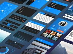 This is the FREE iPhone 6 UI kit by Bradley Bussolini which is a full UI kit which comes with scalable vectors that can adjust to any phone size.