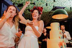 Laza esküvő, bohém színkavalkád - Villő és Hunor Dj, Frida Kahlo