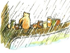 Pooh and the honey pots.Buy from our wonderful range of great value and quality Winnie the Pooh prints and quotes.This is a much loved Winnie the Pooh print Winnie The Pooh Cartoon, Winnie The Pooh Drawing, Winnie The Pooh Classic, Vintage Winnie The Pooh, Pooh Bear, Tigger, Eh Shepard, It Goes Like This, Baby Mine