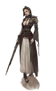 ArtStation - Steampunk musketeer, chanZ _