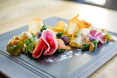 Copy Ritz-Carlton San Francisco's Parallel 37's Exotic Produce Dishes || HotelChatter