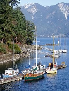 Bowen Island is a quaint community only a short ferry ride from Horseshoe Bay in West Vancouver, British Columbia Vancouver Bc Canada, Vancouver Island, Visit Vancouver, O Canada, Canada Travel, Sunshine Coast, Places Around The World, Around The Worlds, Columbia Outdoor