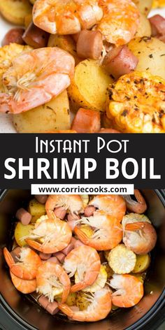 A quick and easy Instant Pot recipe, to enjoy the benefits of seafood, meat, and veggies all in one plate. For this pressure cooker recipe you can use the desired type of sausage. The best option in my opinion is to use spicy or smoked sausage, like Cajun or Andouille Best Pressure Cooker Recipes, Instant Pot Pressure Cooker, Pressure Cooking, Slow Cooker, Seafood Dishes, Seafood Recipes, Beef Recipes, Dinner Recipes Easy Quick, Healthy Dinner Recipes