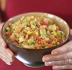 Christmas Pizzazz: Thanksgiving Leftovers Turkey Fried Rice