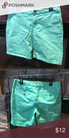 Khakis by Gap. Green Bermuda Shorts. Size 8. Khakis by Gap. Green Bermuda Shorts. Size 8. Like new condition!  Perfect for St. Patrick's Day! GAP Shorts Bermudas