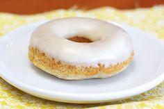 Sarah Bakes Gluten Free Treats: gluten free vegan banana maple donuts