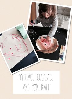 Pre-school activity for learning about 'Ourselves' #EYFS