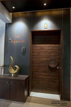 Door Design Interior, Main Door Design, Wooden Door Design, Foyer Design, Front Door Design, Gate Design, Interior Modern, Hall Interior, Ceiling Design