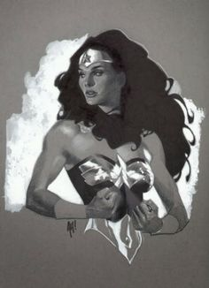 Wonder Woman by Adam Hughes