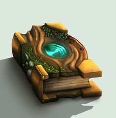 Woodsy magical tome