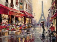 April in Paris Art Print at AllPosters.com